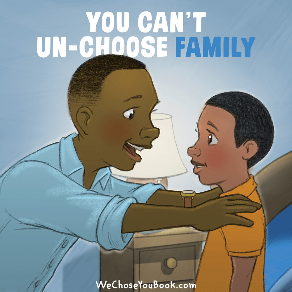 We Chose You: A Book About Adoption, Family, and Forever Love by Tony & Lauren Dungy